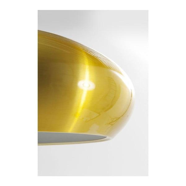 Stropné svietidlo v zlatej farbe Kare Design Champignon