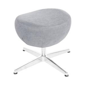 Svetlomodrá otočná stolička/podnožka My Pop Design Vostell