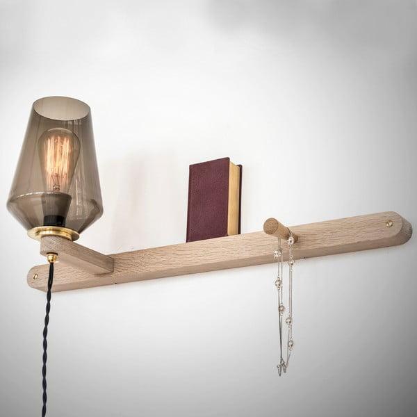 Nástenné svetlo a vešiak v jednom Stick Large