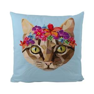 Vankúšik Butter Kings Cat With Flowers