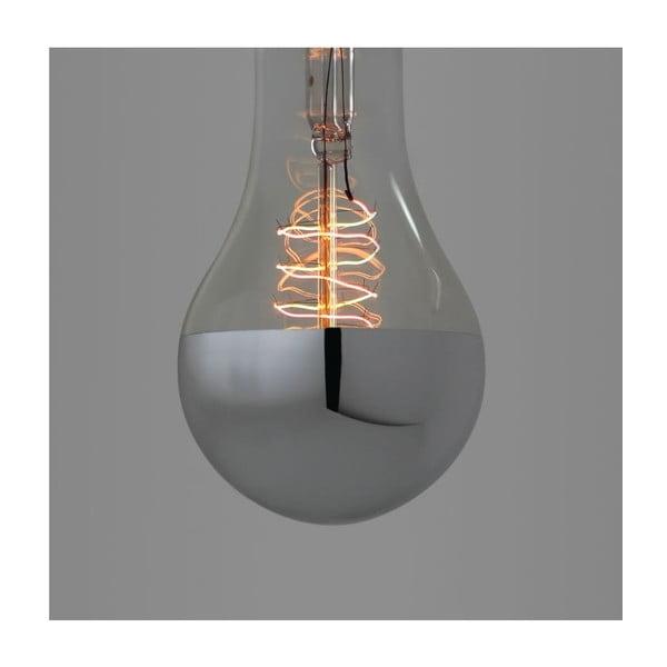 Žiarovka  Spiral Silver Edison E27 40W