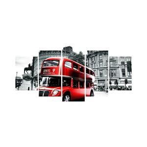 Viacdielny obraz Black&White no. 45, 100x50 cm