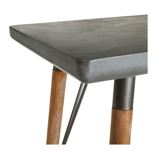 Konzolový stôl Natural Grey, 120x48x76 cm