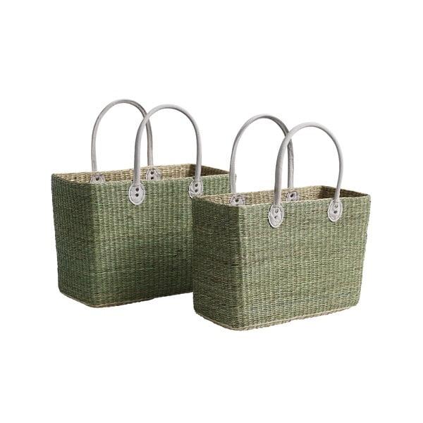 Sada 2 tašiek/úložných košíkov Seagrass