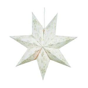 Svietiaca hviezda Aratorp White, 45 cm