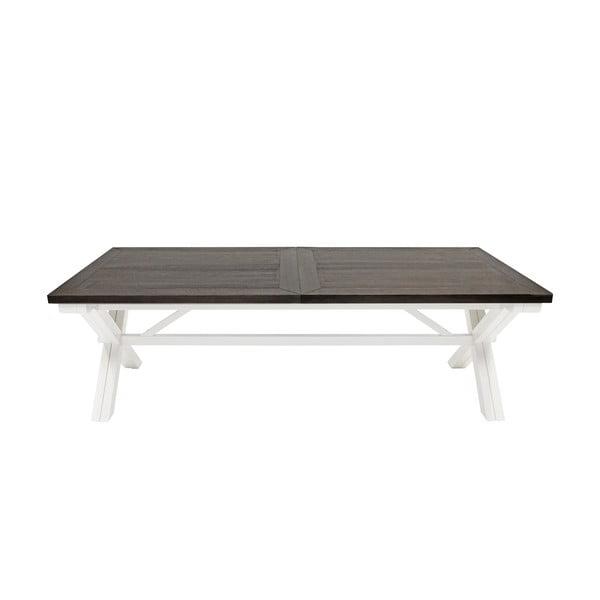 Biely jedálenský stôl Canett Skagen Dining, 240 cm