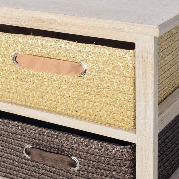 Komoda s 2 zásuvkami Confort, 40x41 cm
