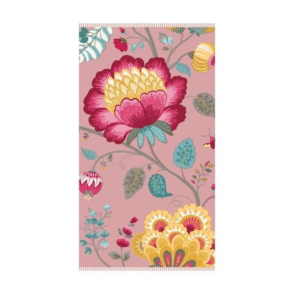Uterák Floral Fantasy Pink, 70x140 cm