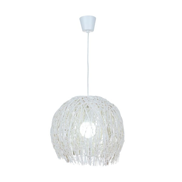 Stropné svetlo Struwel White, 28x30 cm