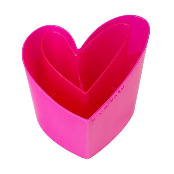 Odkvapkávač na príbory Vigar Wash Pink