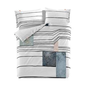 Bavlnená obliečka na paplón Blanc Quartz, 220×220 cm