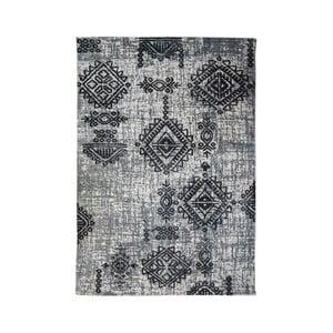 Sivý bavlnený koberec HSM collection Colorful Living Lurro, 120×180 cm
