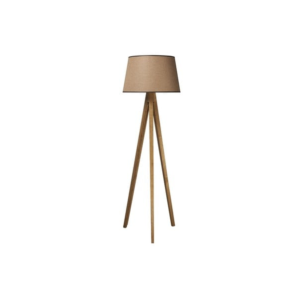 Tripod lampa Wood Light Brown