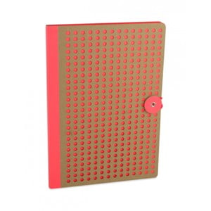 Oranžový zápisník B5 Portico Designs Laser