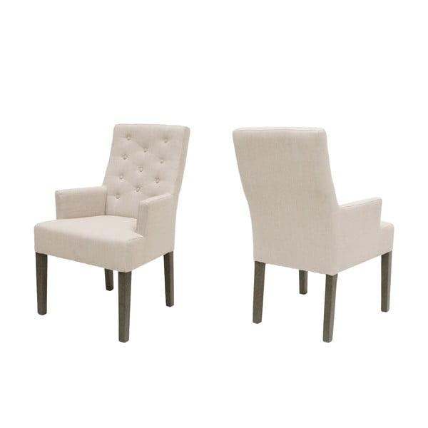 Stolička Canett Twitter Chair s operadlami, tmavé nohy