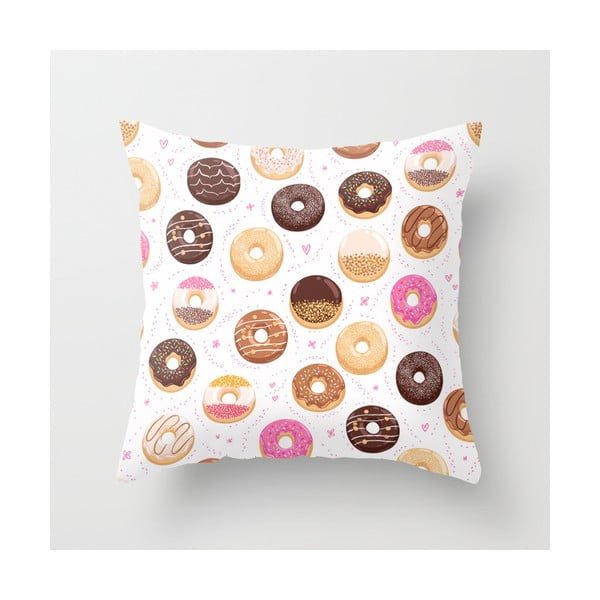 Obliečka na vankúš Donuts III, 45x45 cm