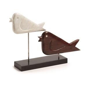 Dekorácia s vtáčikmi Intra