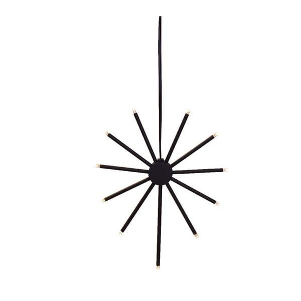 Svietiaca dekorácia Strix Star Black