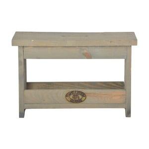 Stolička z borovicového dreva Esschert Design, výška 25,4 cm