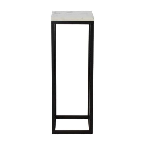 Mramorový podstavec s čiernou konštrukciou RGE Accent, výška 80 cm