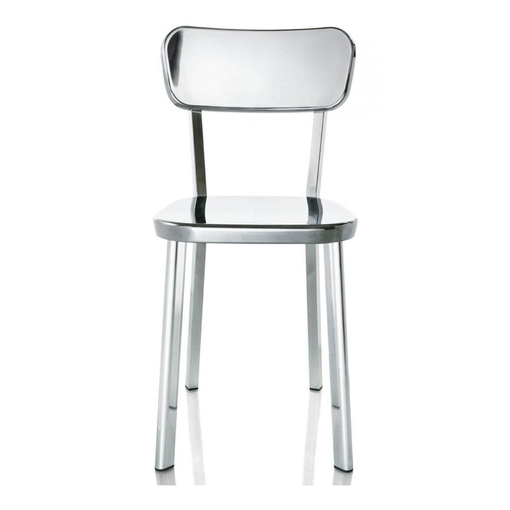 Jedálenské stoličky v striebornej farbe Magis Deja-vu