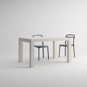 Rozkladací jedálenský stôl v dekore bielej borovice MobiliFiver Iacopo, dĺžka140-220cm