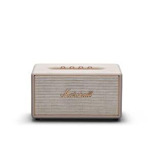 Krémovo-biely reproduktor s Bluetooth pripojením Marshall Stanmore Multi-room