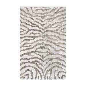 Ručne tuftovaný koberec nuLOOM Zebra Grey,120x183cm