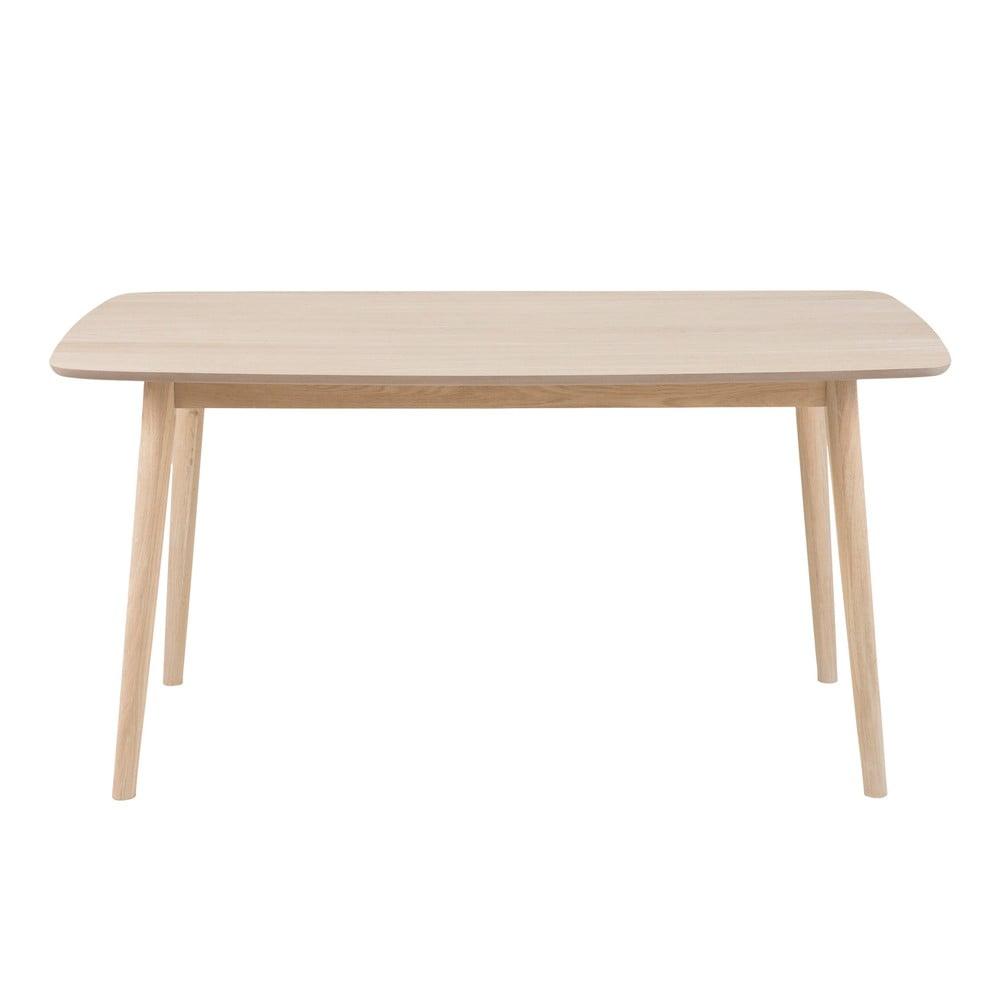 Jedálenský stôl s podnožím z dubového dreva Actona Nagano, 150 x 80 cm