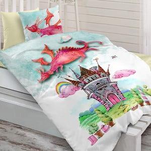 Sada posteľnej bielizne zo 100% ranforce bavlny Charlot Dragon