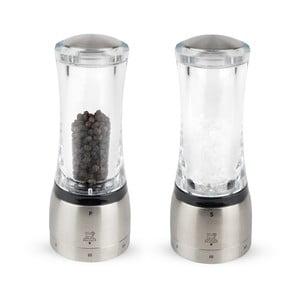 Sada mlynčekov na soľ a korenie Peugeot Daman, výška 16 cm