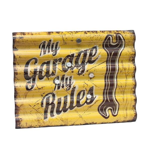 Ceduľa My Garage My Rules