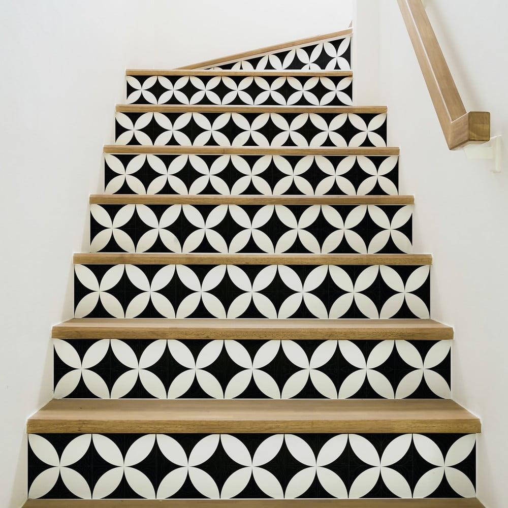 Sada 2 samolepiek na schody Ambiance Alvaro, 15 × 105 cm