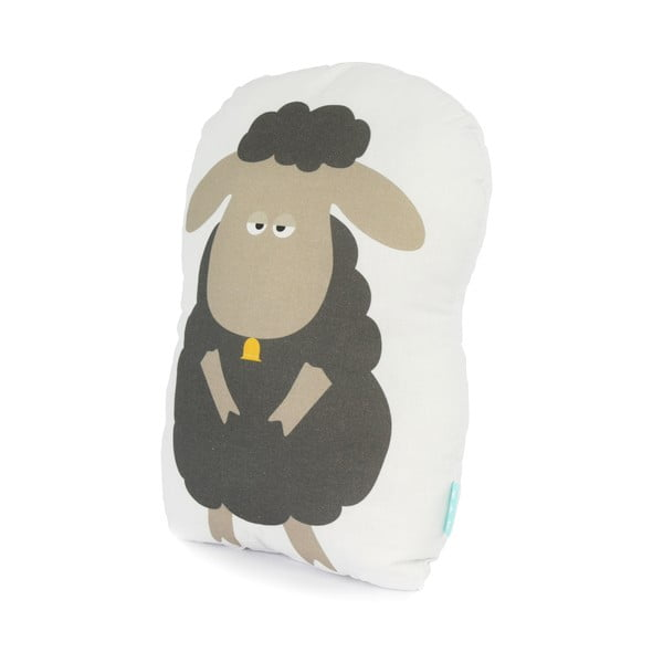 Detský bavlnený vankúšik Baleno Little Sheep, 40 x 30 cm