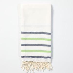 Hammam osuška z ručne tkanej bavlny ZFK Agnete, 170 x 100 cm