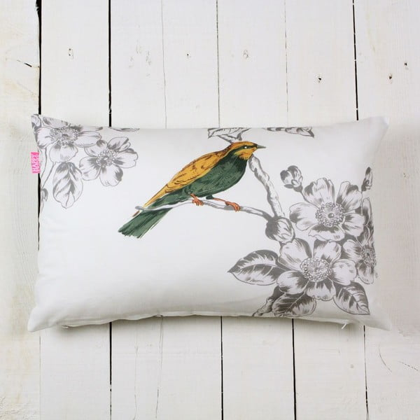 Obliečka na vankúš Spring birds, 50x30cm
