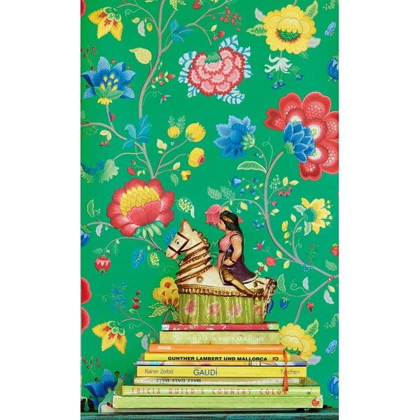 Tapeta Pip Studio Floral Fantasy, 0,52x10 m, zelená