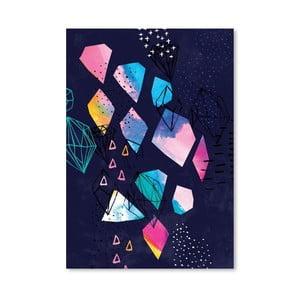 Plagát Shine Bright No.2, 30x42 cm