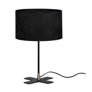 Čierna stolová lampa Bulb Attack Quince