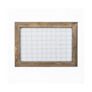Nástenka s dreveným rámom, 70 × 50 cm