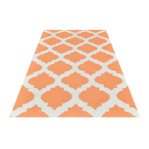 Ručne tkaný koberec Kilim JP 11154 Orange, 90x150 cm