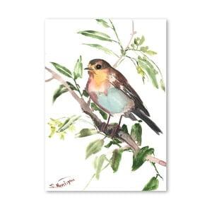 Autorský plagát Bird od Surena Nersisyana, 60 x 42 cm
