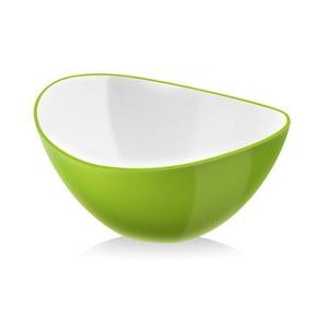 Zelená šalátová misa Vialli Design, 16 cm