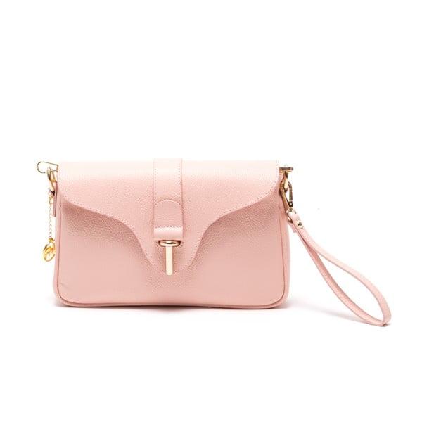 Kožená kabelka Nerezza, ružová
