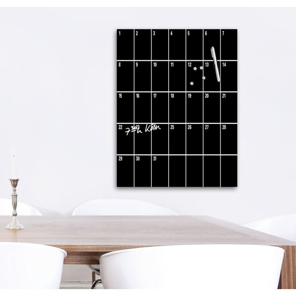 Magnetická tabuľa Remember Month, 60 x 80 cm