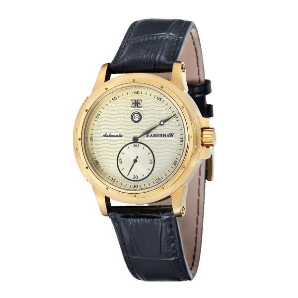 Pánske hodinky Thomas Earnshaw Yellow Gold/Black
