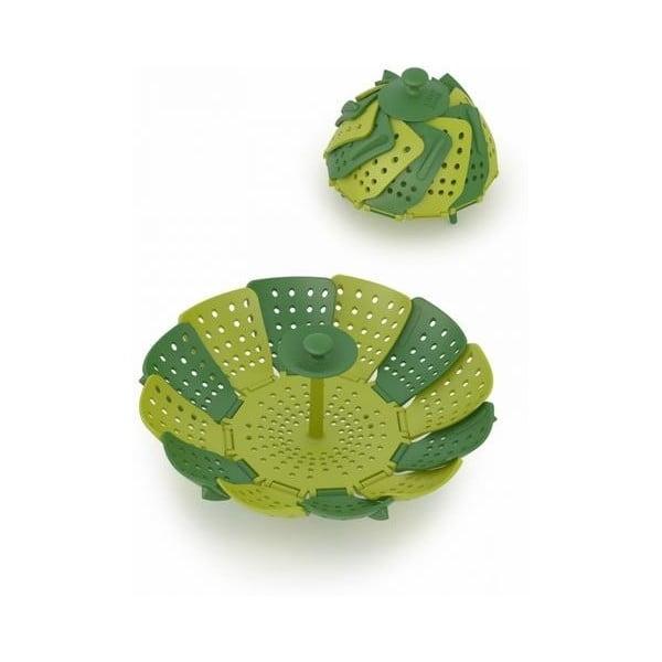 Zelený naparovač Joseph Joseph Lotus Plus, ⌀16,5cm