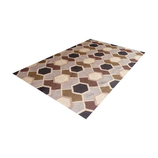 Ručne tkaný koberec Kilim Modern 149, 140x200 cm