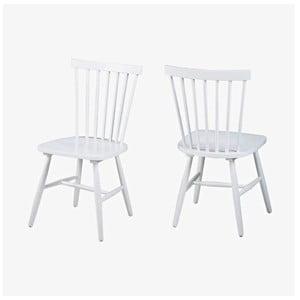 Biela jedálenská stolička Actona Riano