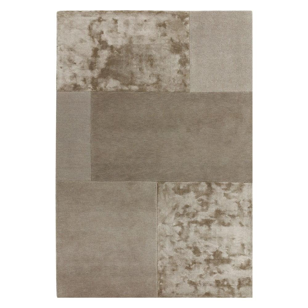 Hnedosivý koberec Asiatic Carpets Tate Tonal Textures, 120 x 170 cm